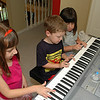 Joshua the Maestro with two helpers.