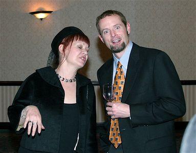 Carolyn and Brad..