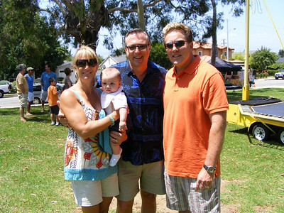 Debra Brockmeyer, baby Bitetti, JJB, and Steve Dawson
