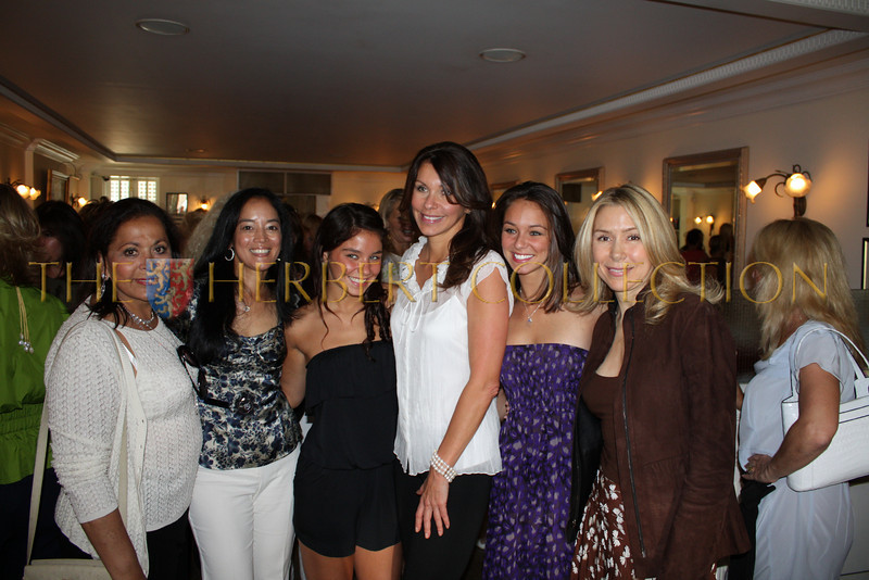 Noreet Haase,Cassandra Seidenfeld Lyster, Lauren, Carol, and Danielle Press (mother and daughters), and Jacqueline Murphy Stahl