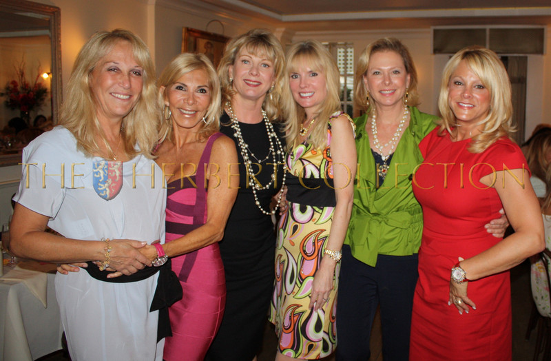 """Missy Lubliner, Andrea Wernick, Paola Rosenshein, Colleen Rein, Pamela Morgan, Iris Schwartz<br /> <br /> Iris: """"From Tenafly and Alpine to NYC.  It took all of these wonderful girls to put us together in NY! What a treat.  Let's continue to get together wherever. We are the only NJ girls. Love you lots."""""""