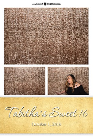 Tabitha's Sweet 16 - October 1, 2016