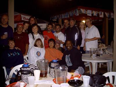 20050930 Team Zebra's Deck Party