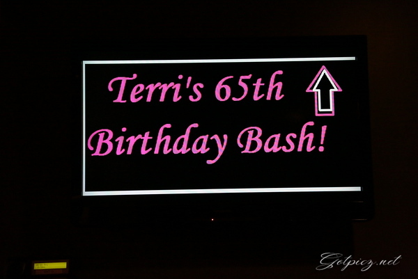 Terry's 65th Birthday Party 7-31-2014