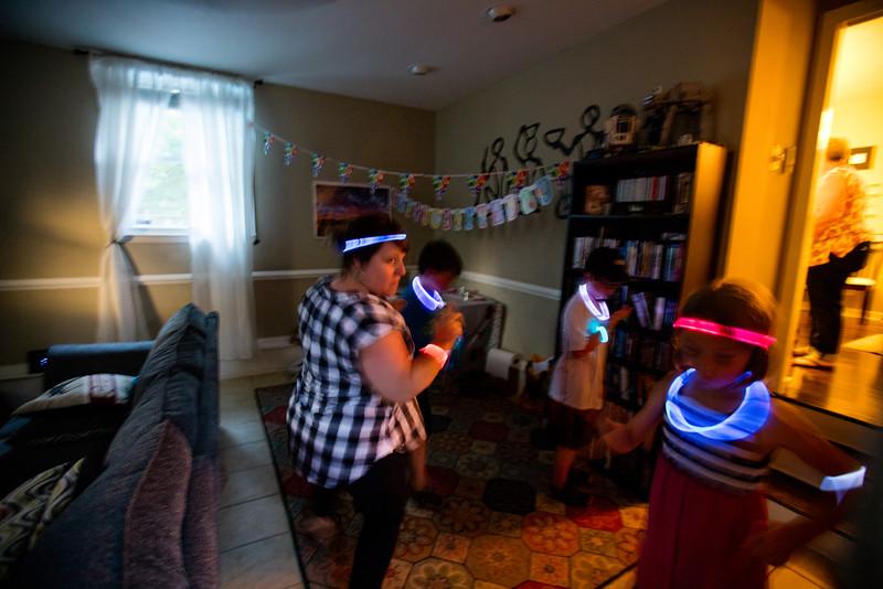 The Party when retro and dark.