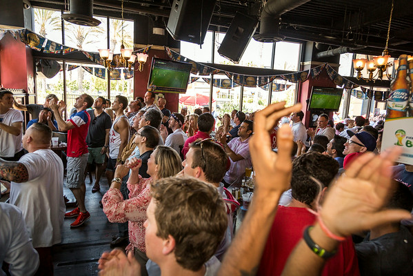 The Auld Dubliner - FIFA WC 2014 : USA vs. Belgium