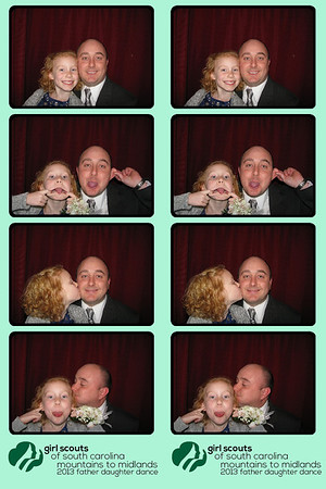 """The Girl Scouts Father Daughter Dance at the Marriott 01/11/13 Booth 2 back"