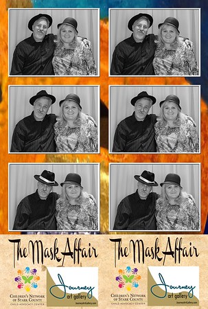 The Mask Affair - Journey Art Gallery