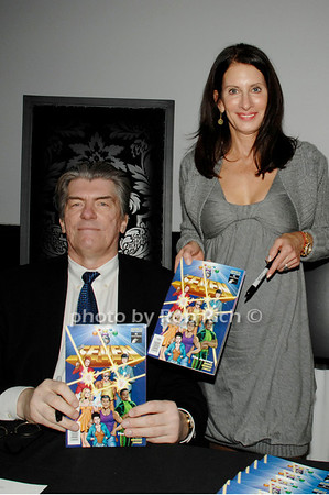 Jim Shooter and Denise Wohl