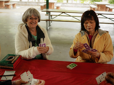 Other Bridge Players: June Stroble & Julie Baca