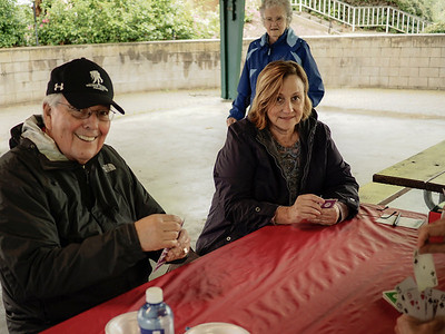 Bridge Players: Eugene Baca & Linda McLaughlin