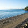 View from the beach house on Lummi Island.