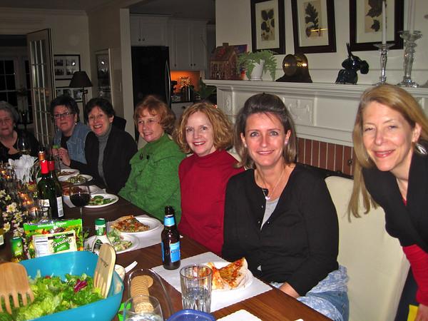 train ladies - retirement dinner