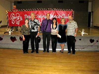 Novice Contest Winners   Lynn & Vern -3rd,  Nick & Maggie - 2nd,  Cindy & Scott - 1st