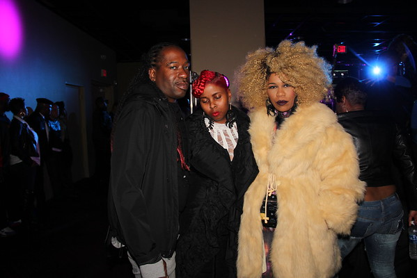 Trina Boo and Suga at the Madness Connection 31st anniversary