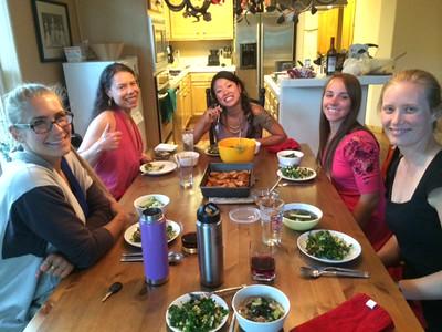 Dinner With Trish 09-11-2014