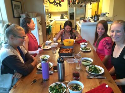 Trish's Dinner 07-11-2014