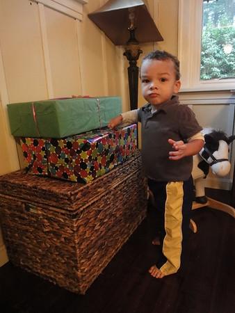 Tristan's second birthday - January 31st '10