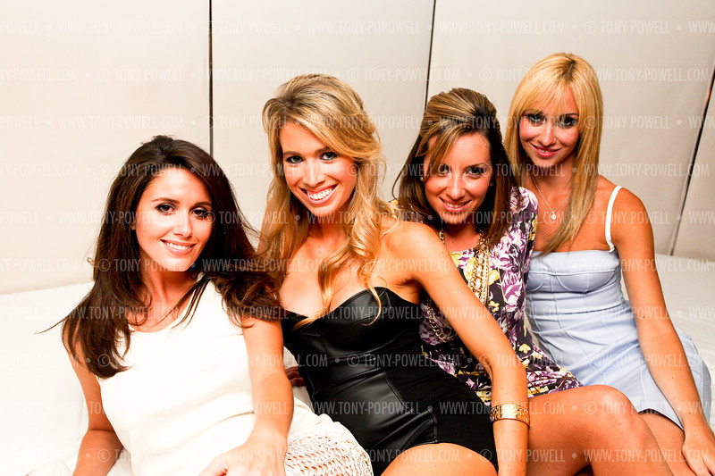Two Blondes. Two Brunettes. One Birthday Extravaganza © Tony Powell