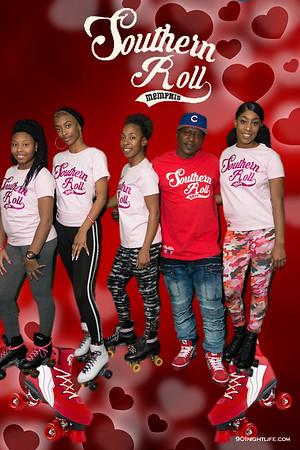 Valentines Roll