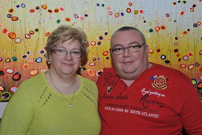 Nancy en Johan (Schoonzus en broer Patrick).