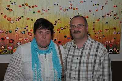 Sonja en Guy* (Collega werk Patrick).