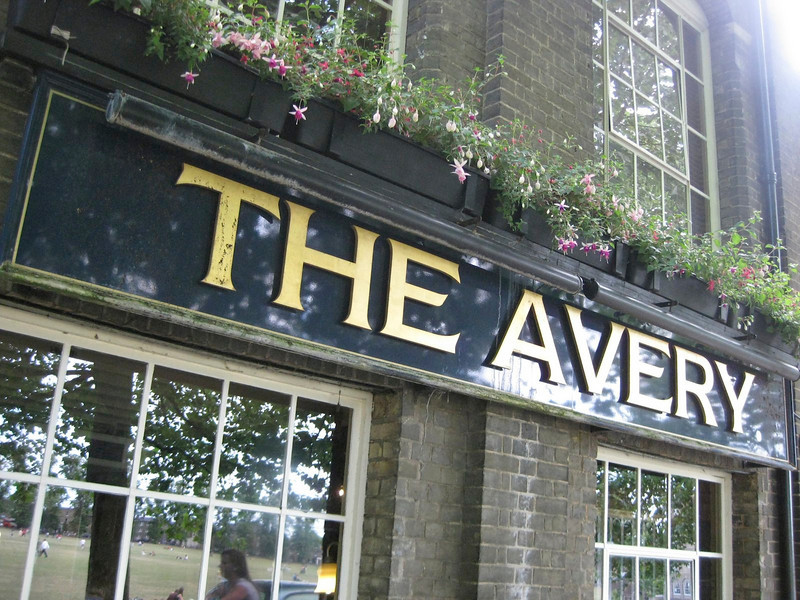 pub where we saw it all, the Avery on Parker's Piece