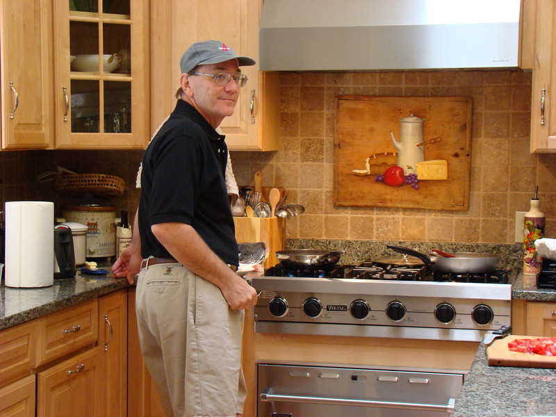 You have now found out why I have Walter go hunting with me in the fall, he loves to cook!!!