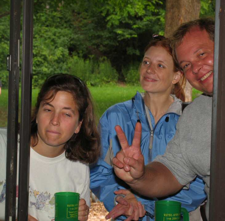Two out of three Wamba goers were having fun. The third was undecided. (She was later seen having fun).