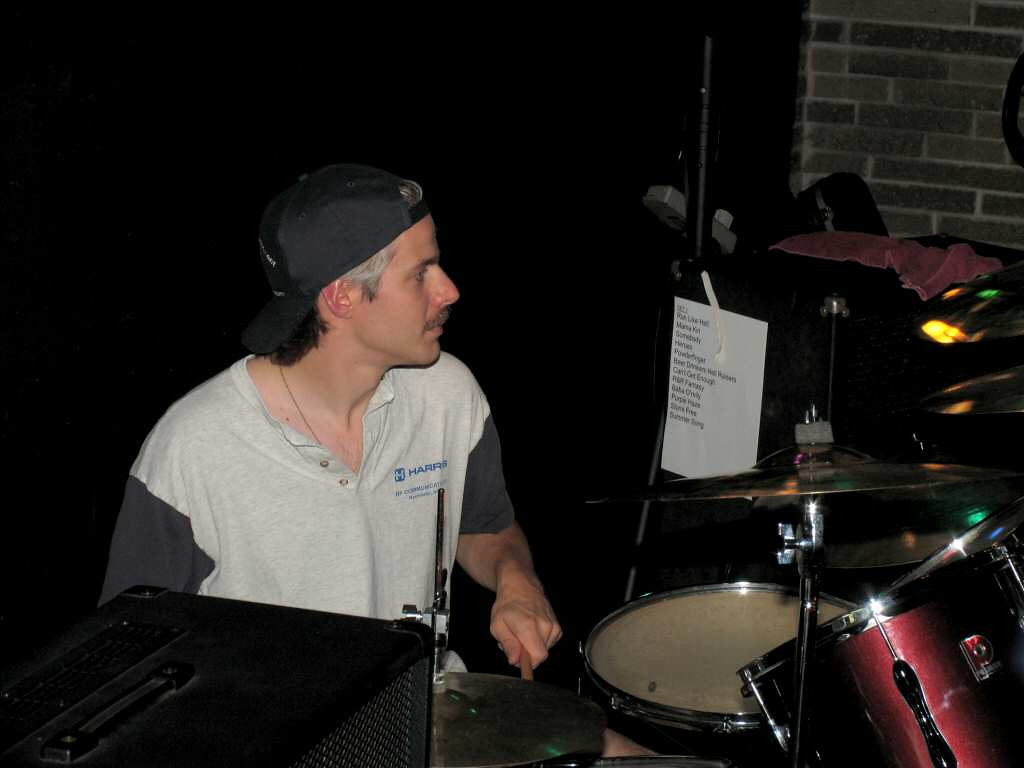 Miguelito on drums. Muy bien!