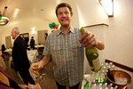 Geoff, with wine