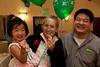 Kira, Lesley and Warren