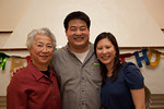 Mrs. Wu, Warren and Elaine