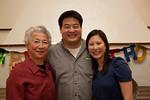 Mrs. Wu, Warren and Elaine