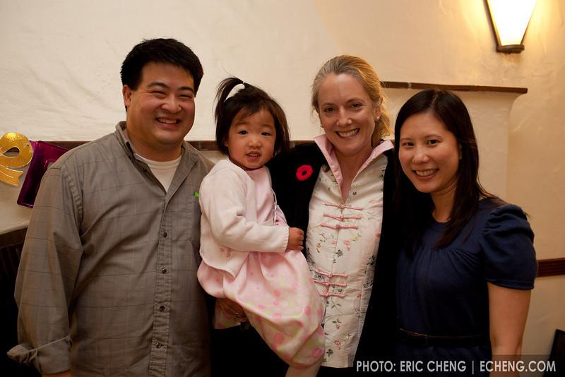 Warren, Kira, Lesley and Elaine
