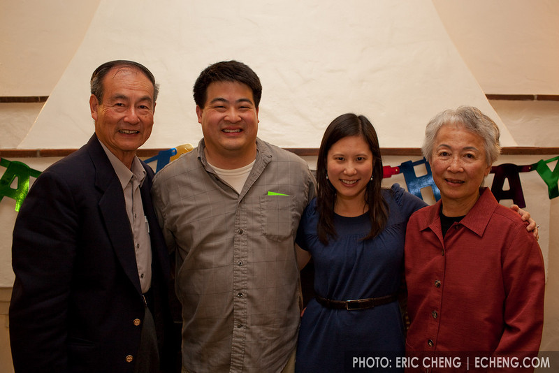Mr and Mrs Wu, Warren and Elaine