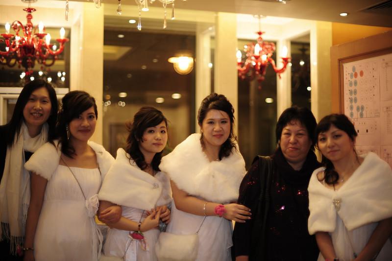 Samantha, Ron, Connie, 媚媚 and BoBo