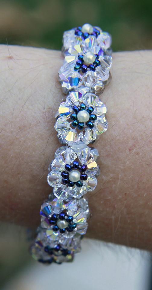 nice bling that Sherri is wearing at Luke's wedding