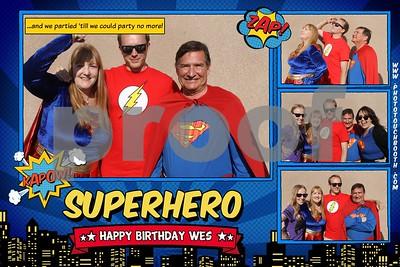 Wes' Birthday
