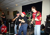 A guest singer with Mike, Jimmy, Todd and Scott