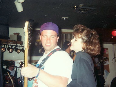 Tim and his wife  ( 1993 )