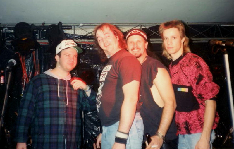 The original Blind Alley. Tim, Scott, Jimmy and Todd  ( 1993 )