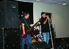 Mike and Jimmy on stage at the Moose Lodge.
