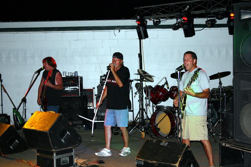 Mike, Jimmy and Todd playing at Wahkonsa