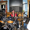 Scott behind the drum kit ( 2010 )