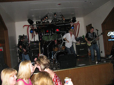 Blind Alley at the Iron Wheel Pub in Wilton