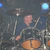 Scott singing and drumming