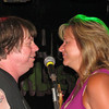 Mike with a guest singer in Wapello ( 2010 )