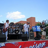 Blind Alley perform in downtown Muscatine ( 2010 )