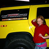 Elainee poses by the bands limousine ( 2009 )